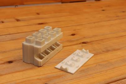 Prototypes for a new type of brick
