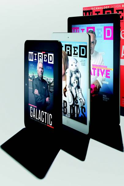 Wired magazine tablet editions