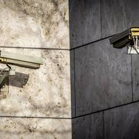 CCTV cameras watching each other