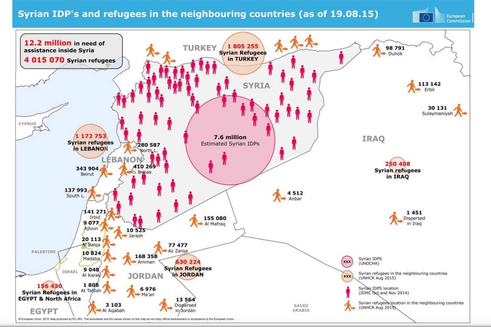 Syrias refugee crisis in maps a visual guide wired uk gumiabroncs Images