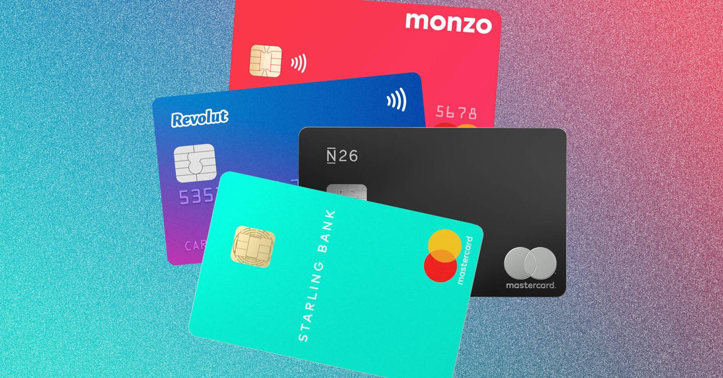 Which challenger bank is best for you? We compare Monzo, Revolut, Starling and N26