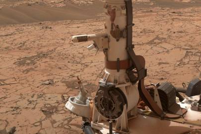 Nasa's Curiosity rover used temperature and humidity sensors mounted on its mast to collect huge amounts of atmospheric data