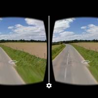 Stereoscopic Street View for Cardboard
