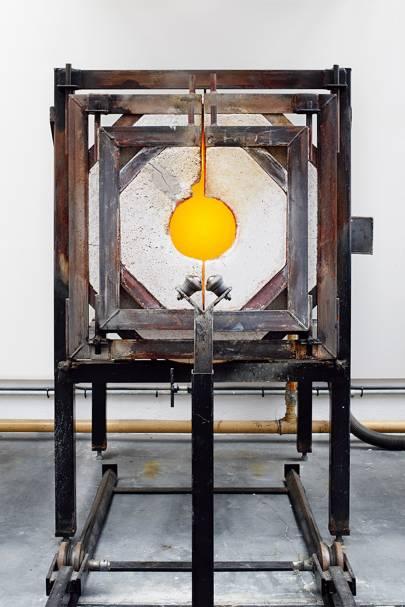 1. Heating drum