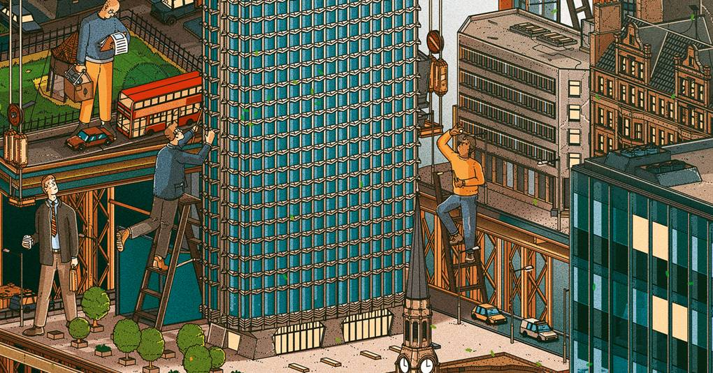 How London's iconic tower was reworked into high flying homes