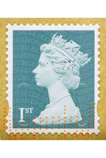 17. First class stamp