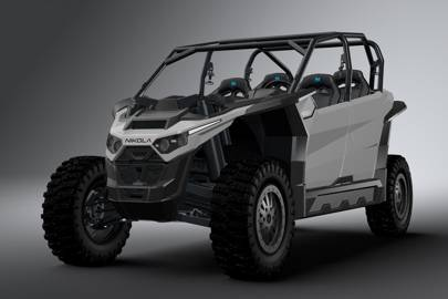 This Ridiculous 35 000 Electric Off Roader Out Torques Tanks