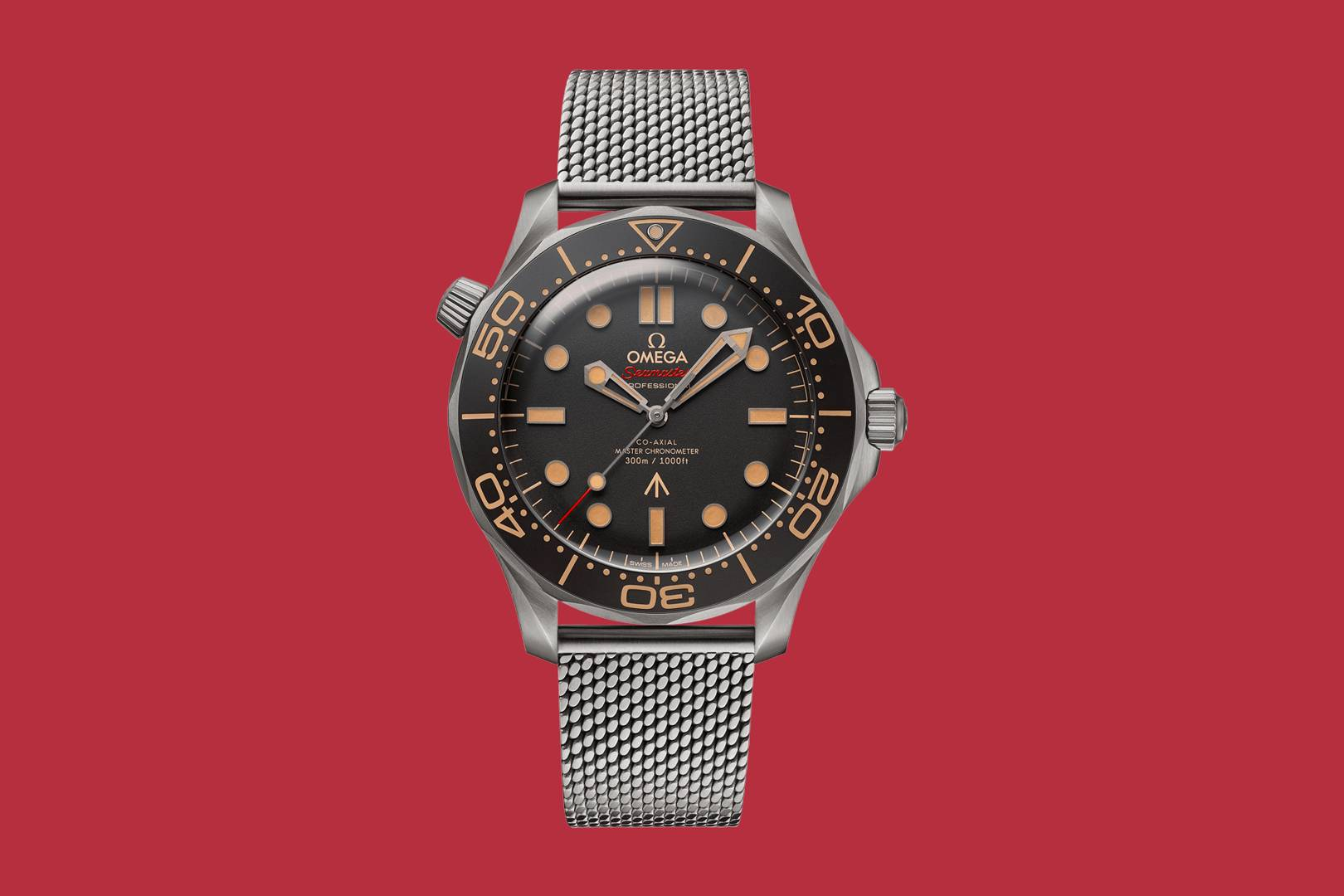 The most impressive part of Omega's new Bond watch is the strap