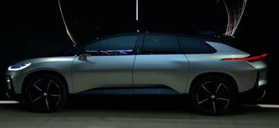 The Ff91 Was Demonstrated Onstage At Consumer Electronics Show 2017 Faraday Future