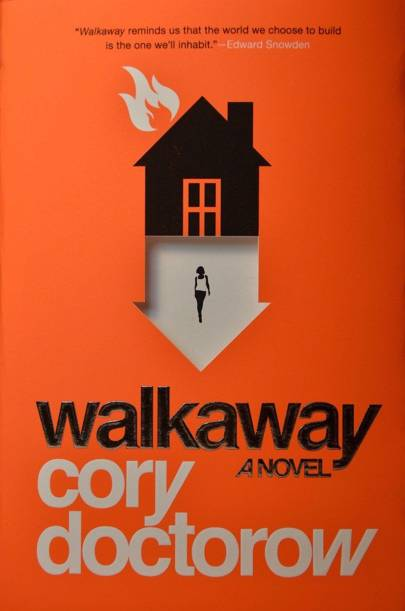 The cover of Walkaway, by Cory Doctorow