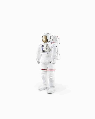 The current Extravehicular Mobility Unit space suit