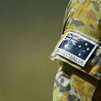 Royal Australian Air Force military flag patch