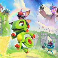Yooka-Laylee Main Art
