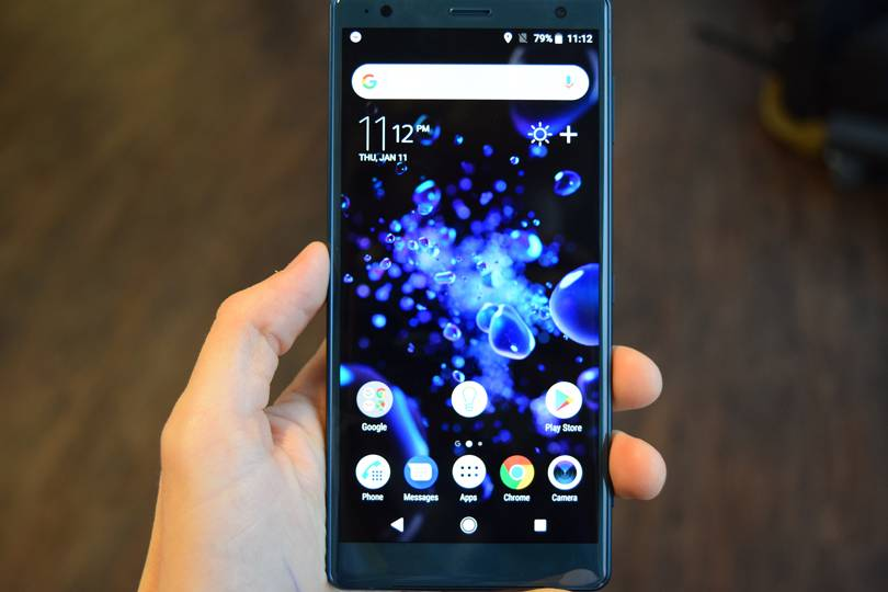Techmeme: Sony Xperia XZ2 and XZ2 Compact hands-on: nice