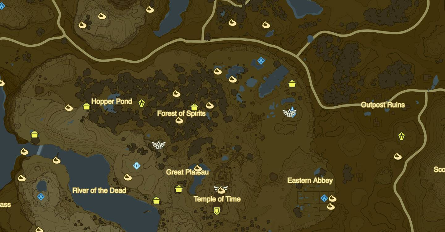 Legend of Zelda: Breath of the Wild map, tips and tricks to survive
