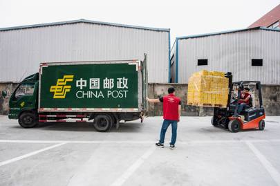 Warehouse facilities in Yuhang district, from where 400 local Ule clients are served