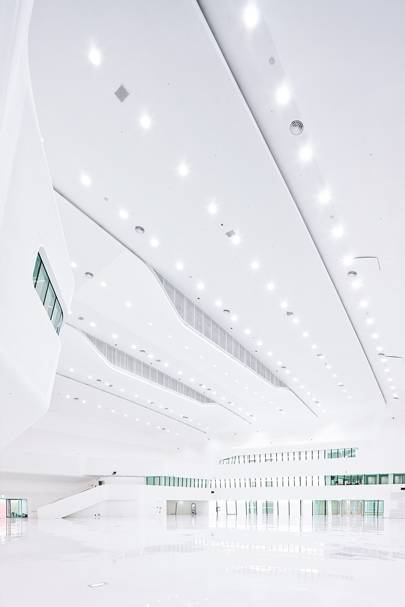 The 86,500m2 Plaza opened to the public on March 21