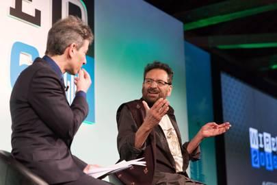 Director and philosopher Shekhar Kapur in conversation with WIRED UK's editor, David Rowan