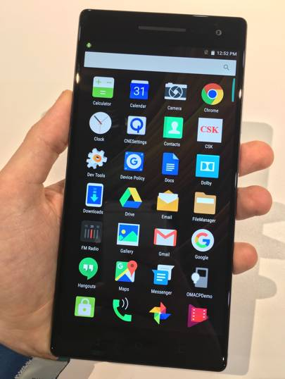 The PHAB2 Pro is the first consumer smartphone to come with Google's Tango software