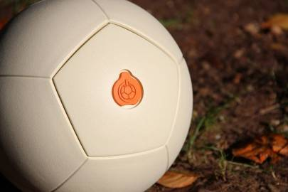 Uncharted Play plans to use the funding to take the renewable technology in its SOCCKET ball (pictured) onto a new platform. SOCCKET is an energy harnessing football that can be used to provide light after play