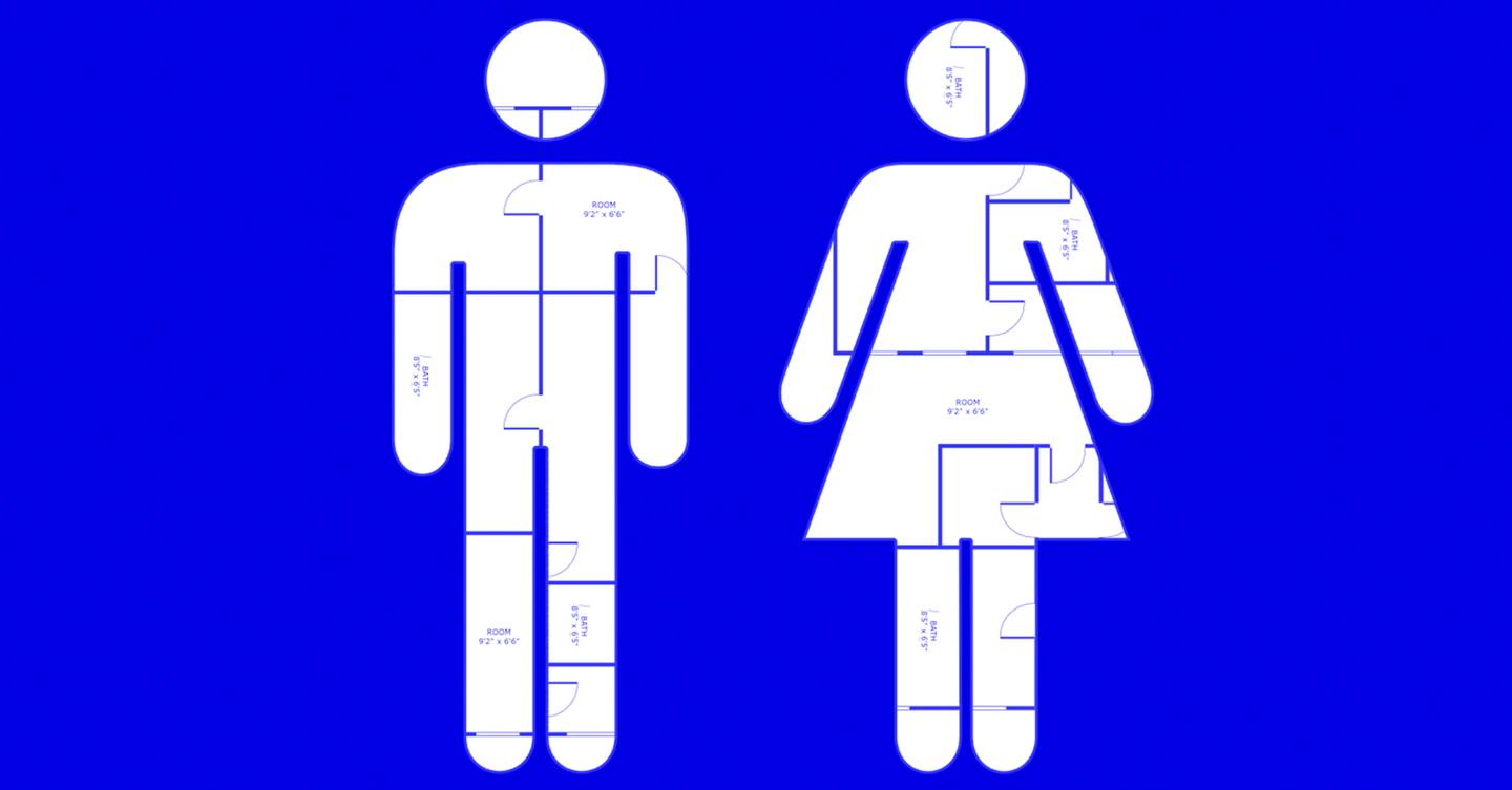 The curse of the phantom pooer shows why gender neutral toilet designs aren't working