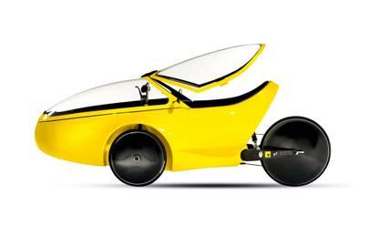 Hammacher Carbon Chassis Velocipede