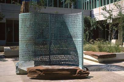 The Kryptos Sculpture