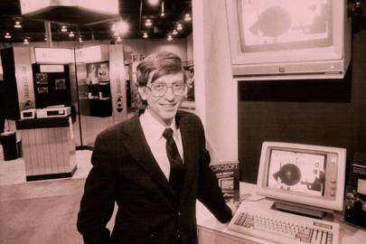 Some elements of software and hardware design have changed little since Bill Gates first made headlines in the 1980s
