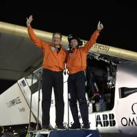Solar Impulse 2 completes its round-the-world trip