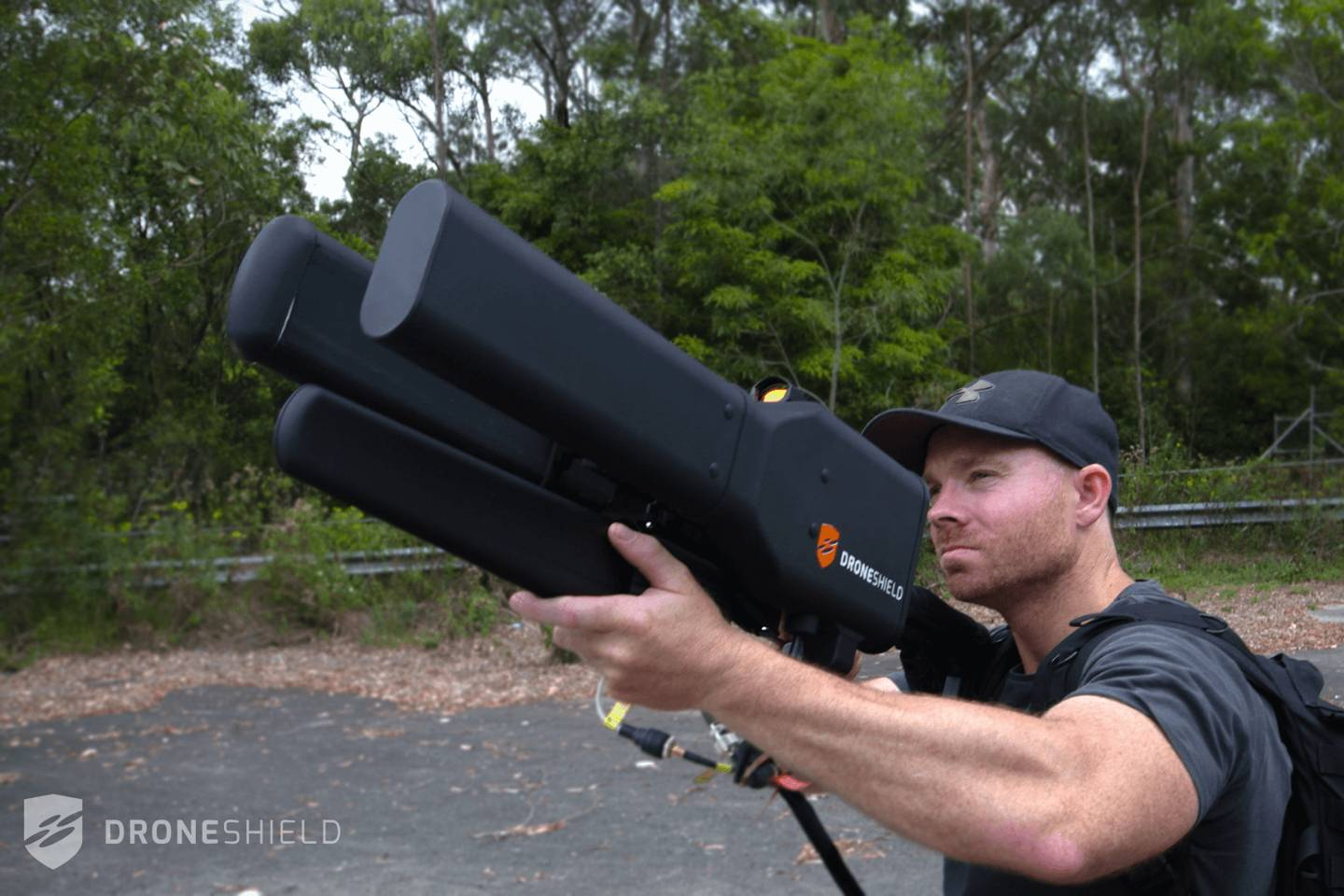 This ridiculous drone gun can shoot down UAVs from 2km away