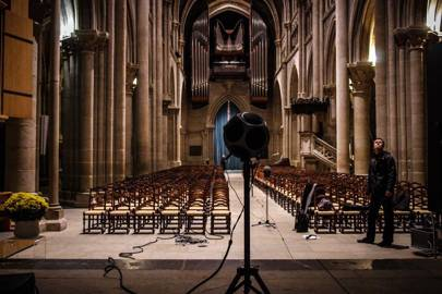 Study: echolocation algorithm maps cathedral in 3D to the millimetre