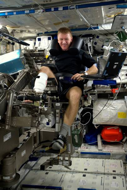 Tim Peake: muscle atrophy research