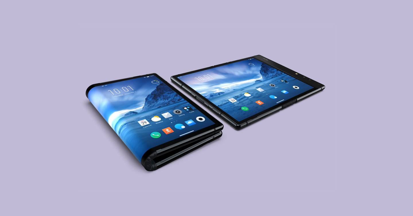 QnA VBage Folding phones are finally here. So what's the point in them?