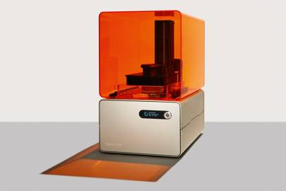 The Form 1 is unique among low-cost 3D printers for its use of stereolithography