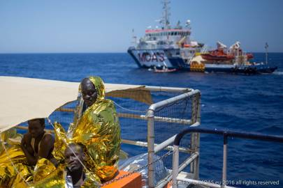 The Italian Red Cross provided emergency medical care to the 753 migrants rescued. It is hoped the I Sea App will mean more migrants are rescued before drowning at sea