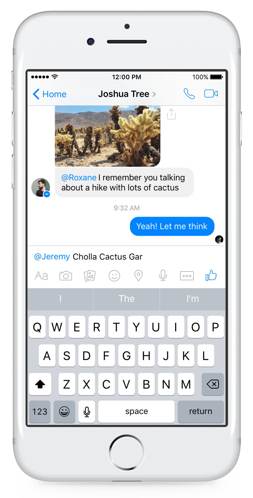 Facebook messenger reactions and mentions goes live wired uk buycottarizona Images