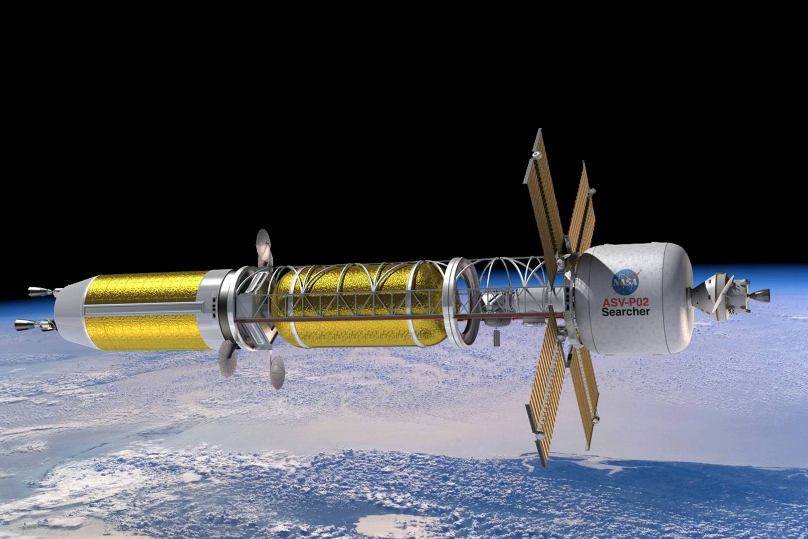 Nasa's creating nuclear rockets to help put humans on Mars