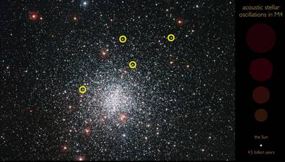 Listen to ancient stars 'singing' in the Milky Way