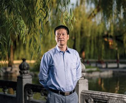 Chen Qing, Ule chairman and China post general manager, photographed by WIRED in Beijing