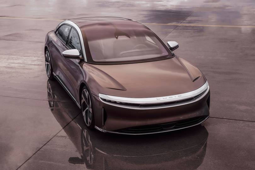Image of article 'Lucid Air is a 500-mile range Tesla rival that charges in just minutes'