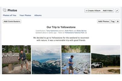 Facebook introduces shared photo albums you can build with friends