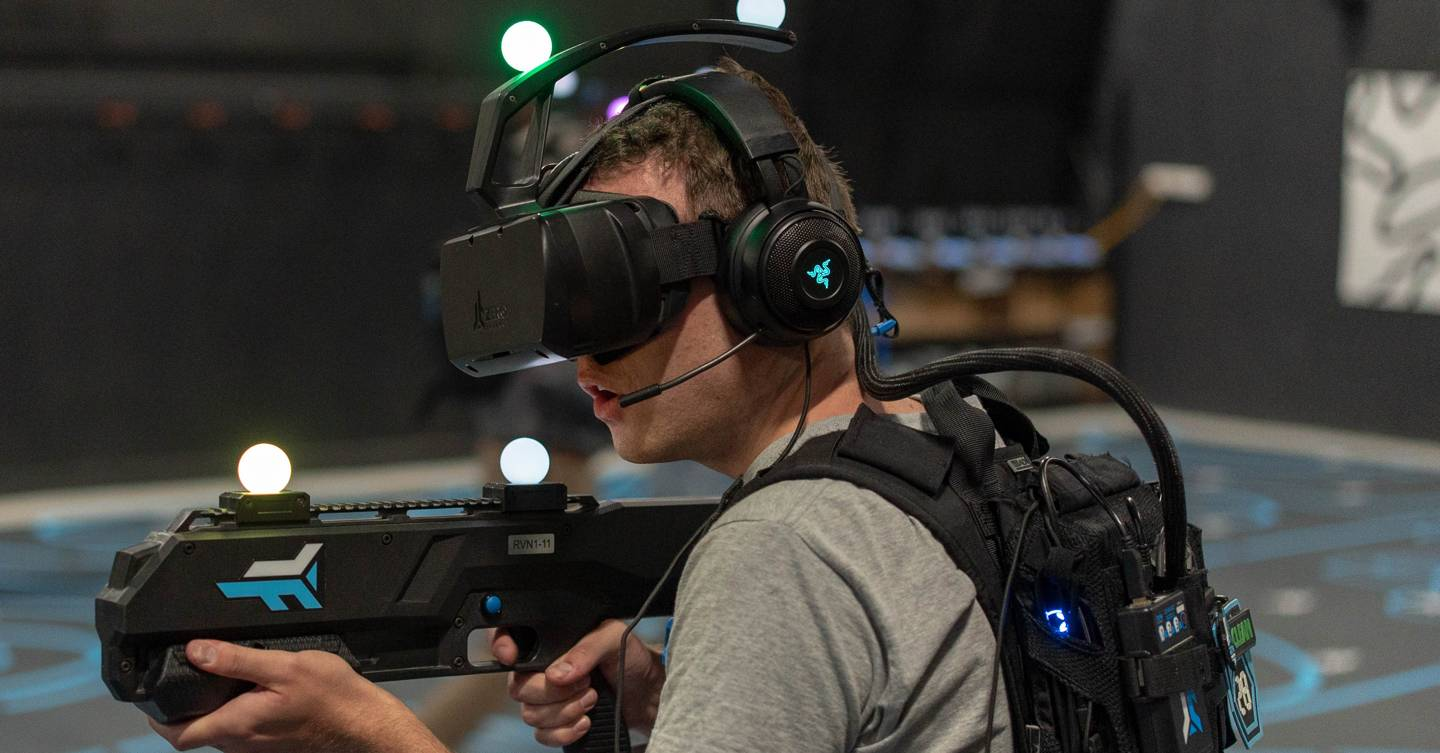 Can epic laser tag save virtual reality from being a total dud?