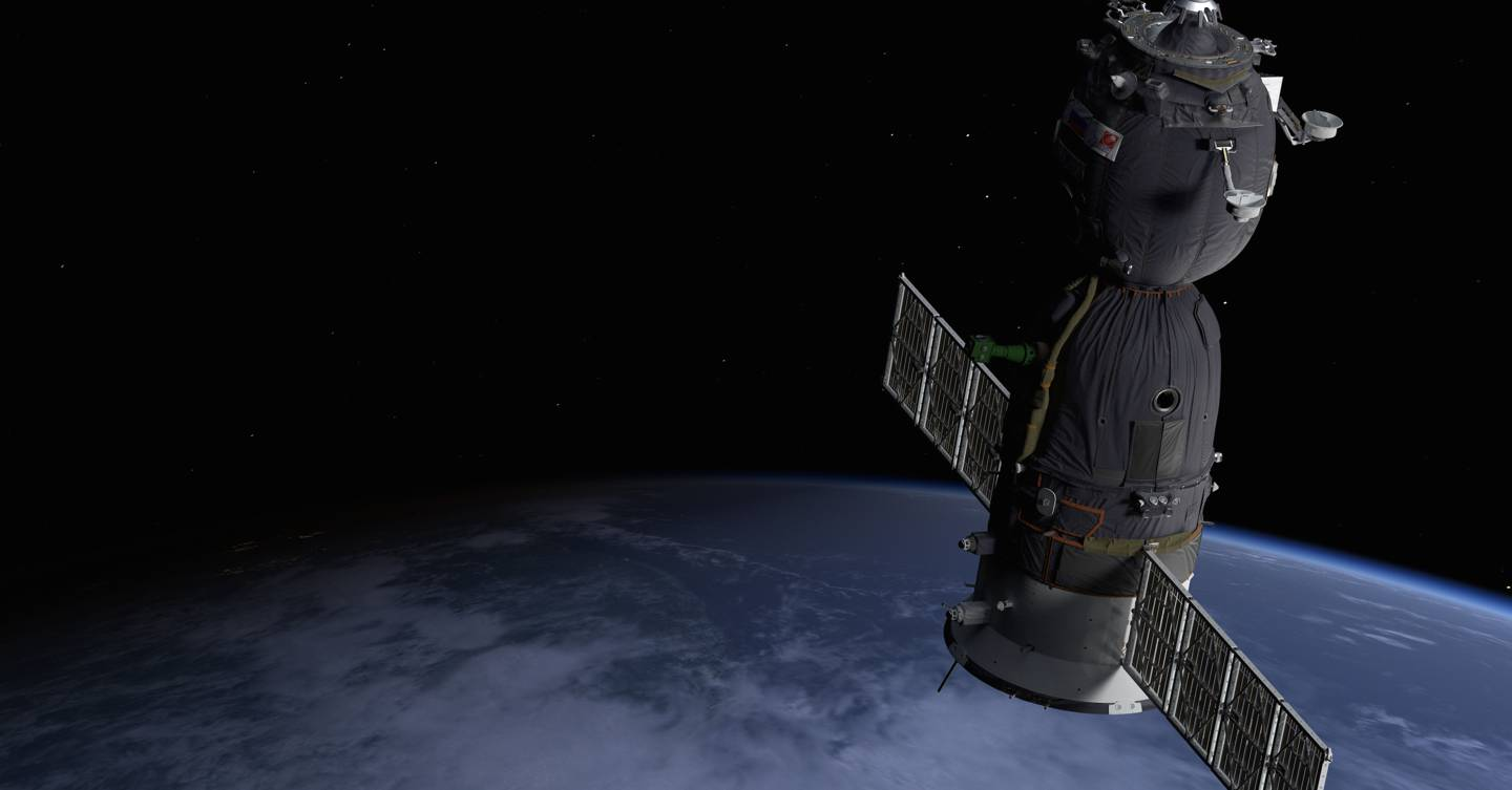 Plummet from space with this Tim Peake VR experience