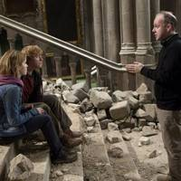 Ron and Hermione amongst the rubble
