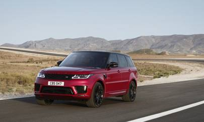 Range Rover Sport plug-in hybrid set for Oz