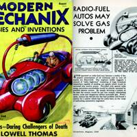 Radio-fuel autos -- Modern Mechanix, 1936