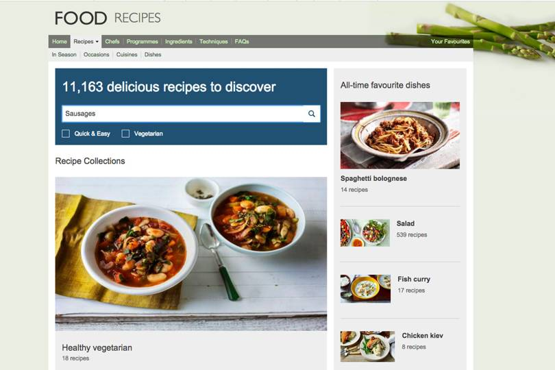 Bbc Food Website Could Close Heres How To Access Its Recipes