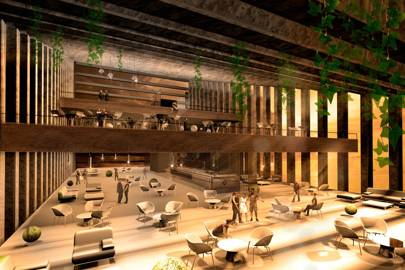 Renderings of Hotel Unbalance