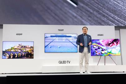 QLED can't beat OLED. So why is Samsung pushing it so hard?