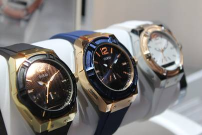 Guess is using technology developed by smartwatch firm Martian in its new timepieces